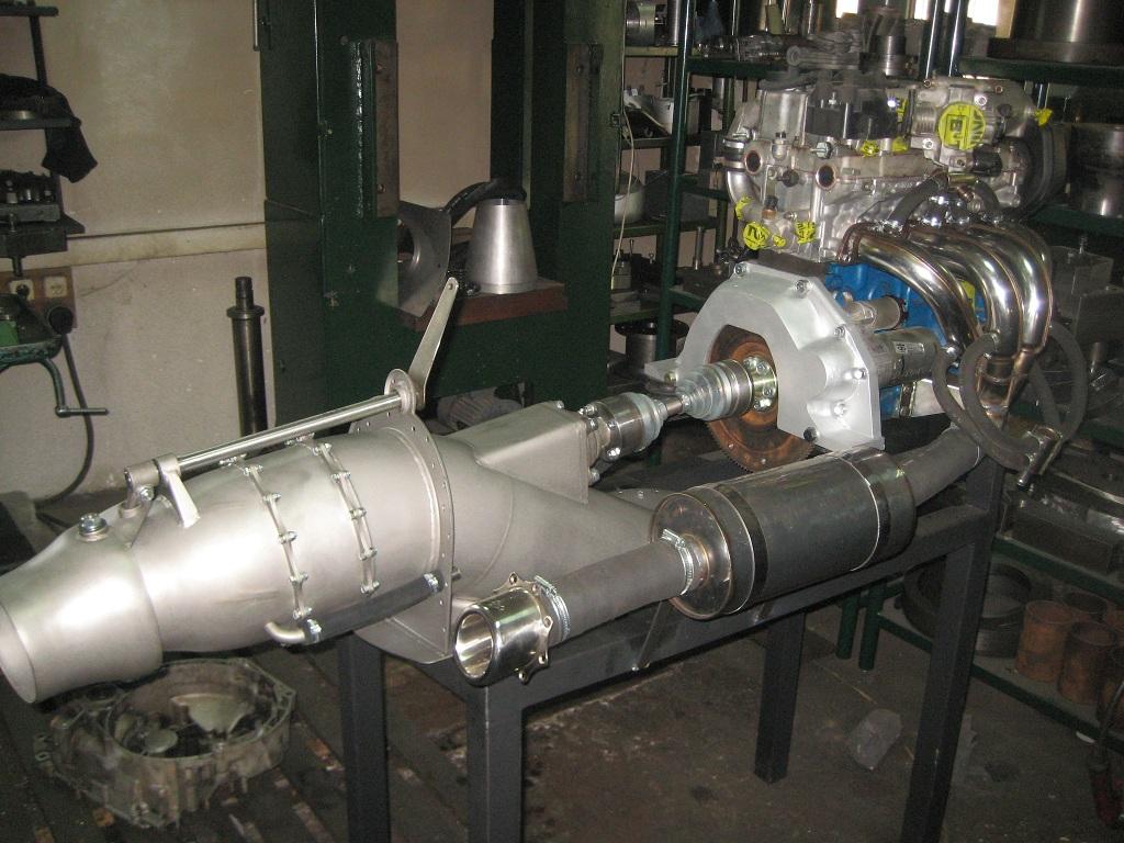 Самодельный стационарный двигатель
